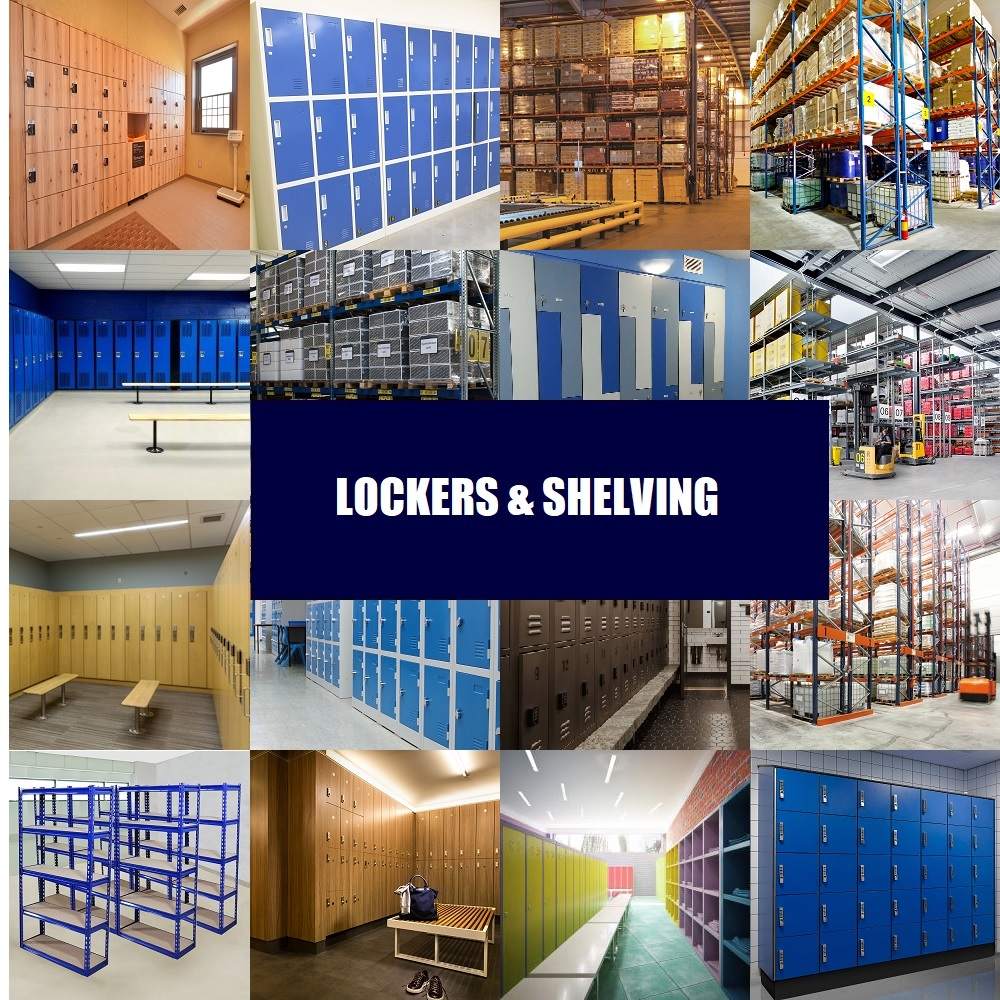 Lockers & Shelving