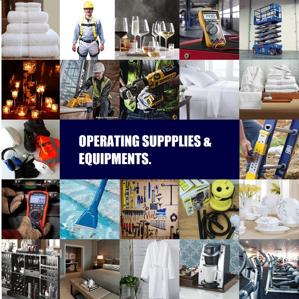 Operating Supplies & Equipment